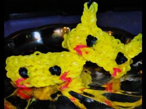 Pikachu - Rainbow loom