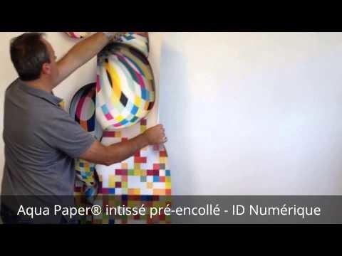 Aqua Paper® - Papier peint intissé lessivable