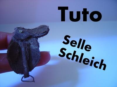 Comment faire une selle Schleich ?