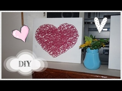 DIY #14 ❤ Saint-Valentin Room Decor. Idée cadeau ❤