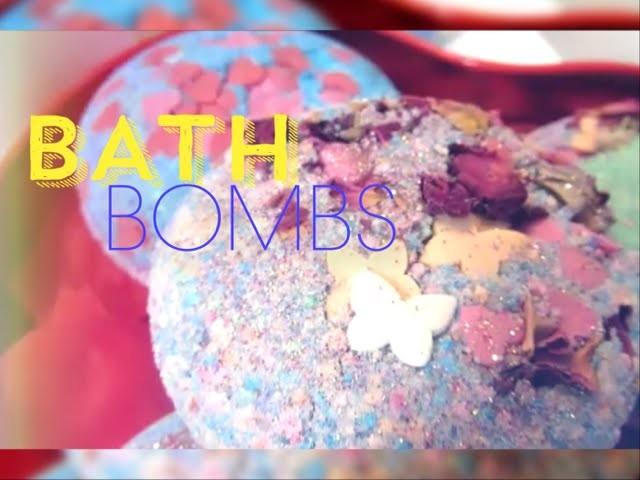 EASY DIY: BATH BOMBS.BOMBES DE BAIN FACON LUSH