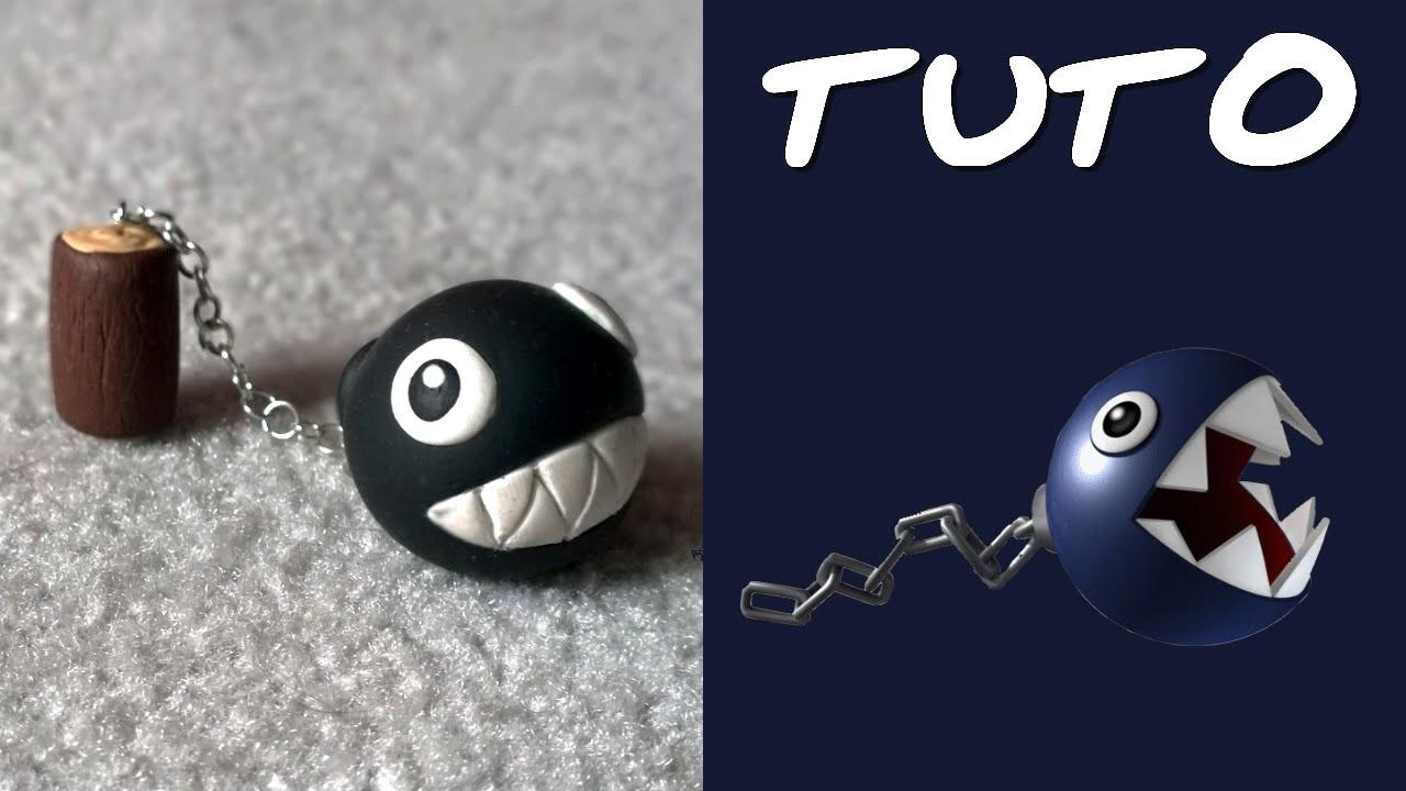 TUTO FIMO | Chomp (de Mario)