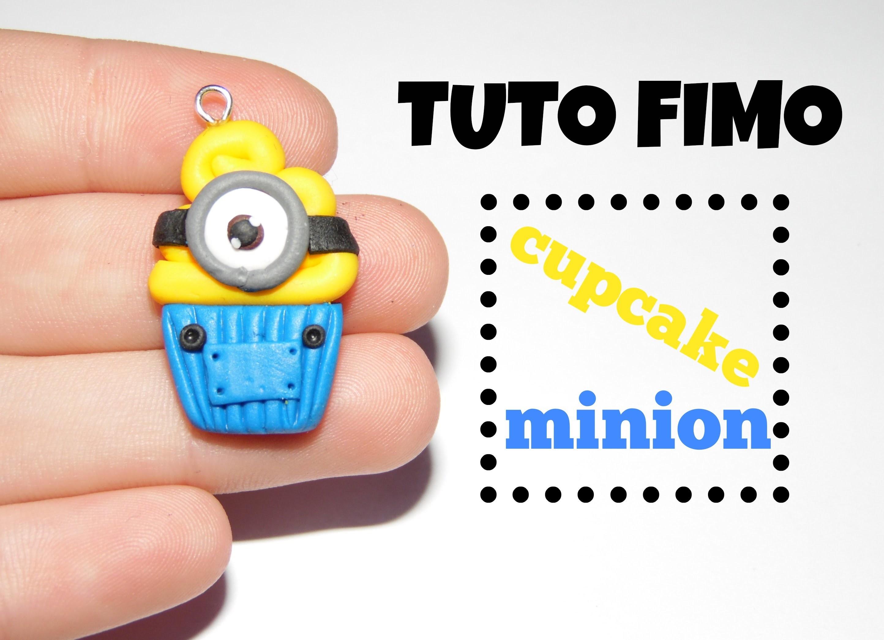 TUTO FIMO → Cupcake minion. minion cupcake polymer clay tutorial