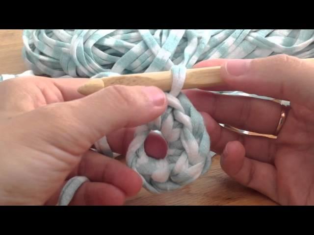 Tuto crochet mailles serrées