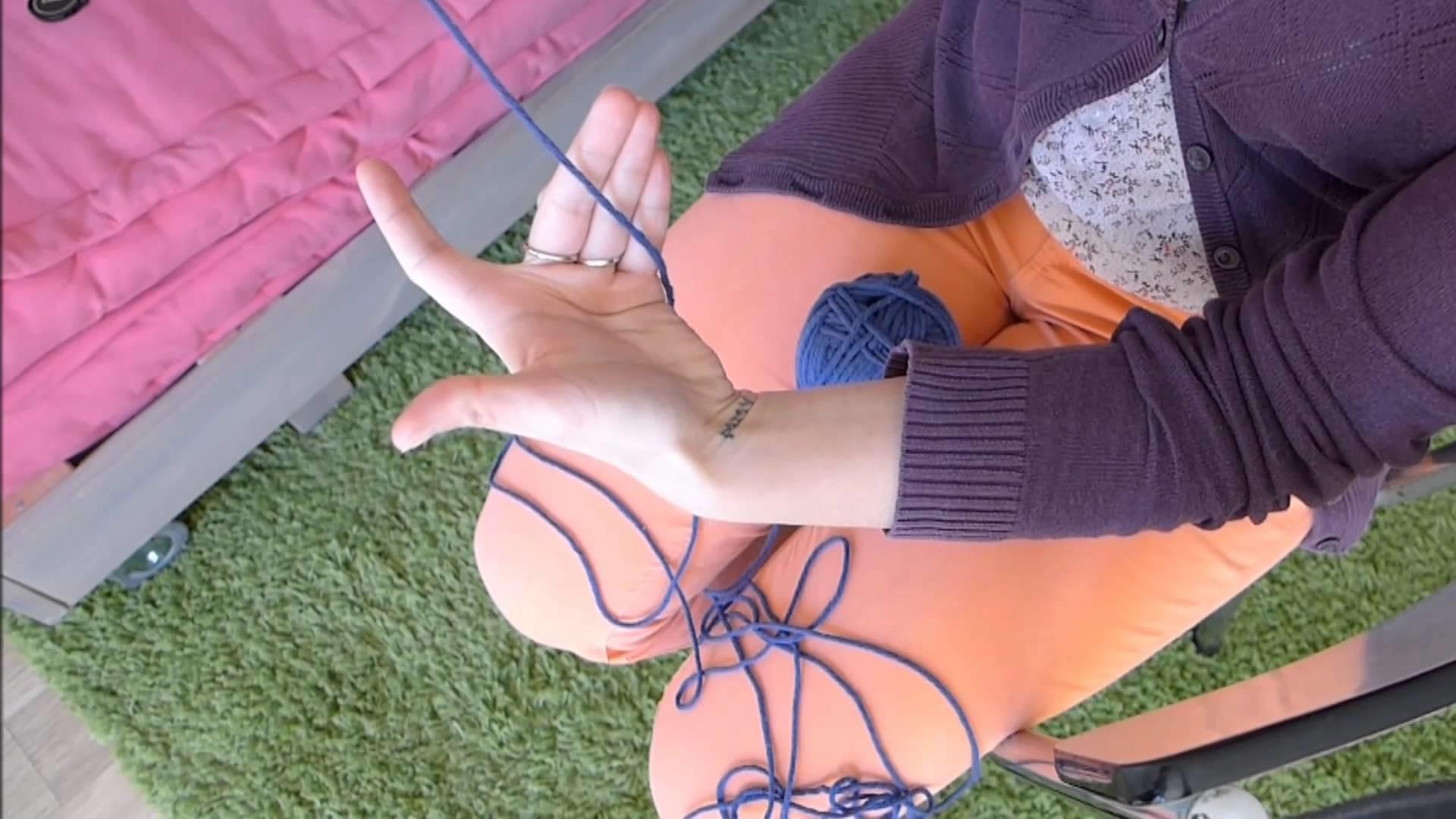 Cours de Tricot n°1 - Monter les Mailles - Méthode facile et rapide