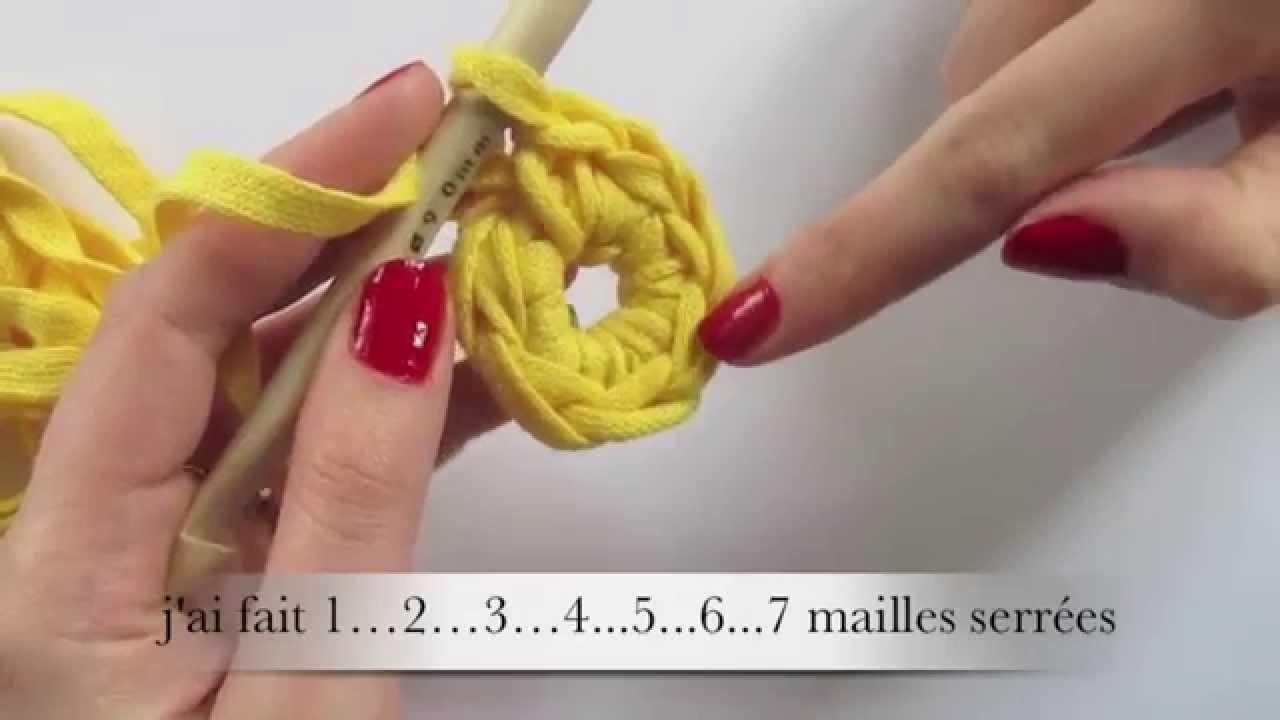 # Crochet # Crocheter en rond (débutant)