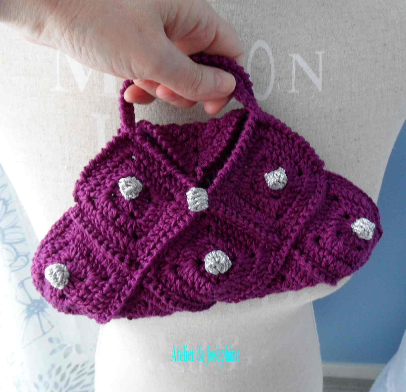 ► CROCHET. SAC: SANTINA MINI BAG AU CROCHET VIDEO HD 1.2♥