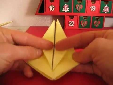 Déco table enfant boîte étoile origami