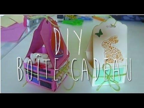 [DIY] Boîte cadeau en forme de panier. Pâques DIY