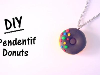 ♡ DIY Création pendentif Donuts en pate fimo
