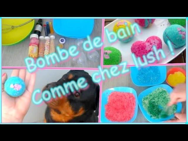 ✁ DiY - Des bombes de bain comme chez LUSH ! francais !!