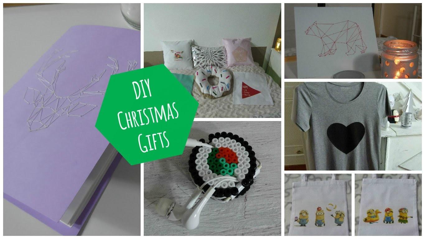 [ DIY ] Idées cadeaux à faire soi-même. Christmas gifts #1