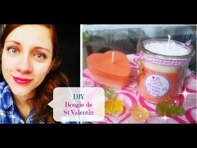 ❤ DIY St Valentin : 2 Bougies ULTRA simples et GOURMANDES ❤