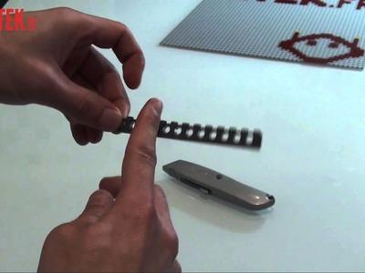 Le tuto de la semaine : un porte-clefs LEGO