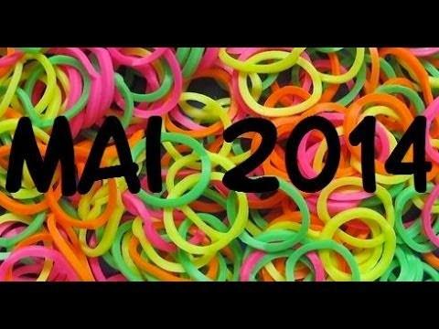 Mes créations Rainbow Loom - Mai 2014