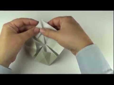 Mobilier miniature en origami