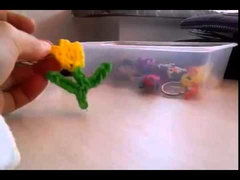Rainbow Loom Dress emoji.emoticon charm - How to - Mother's Day