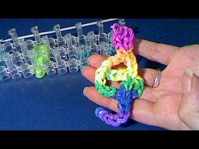 Rainbow loom francais :clef de sol (loom band)