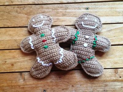 Tuto crochet : Bonhomme en pain d'épices au crochet