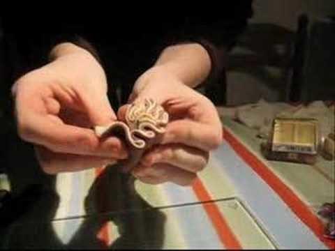 Tuto de pâte fimo - Cane cervelle
