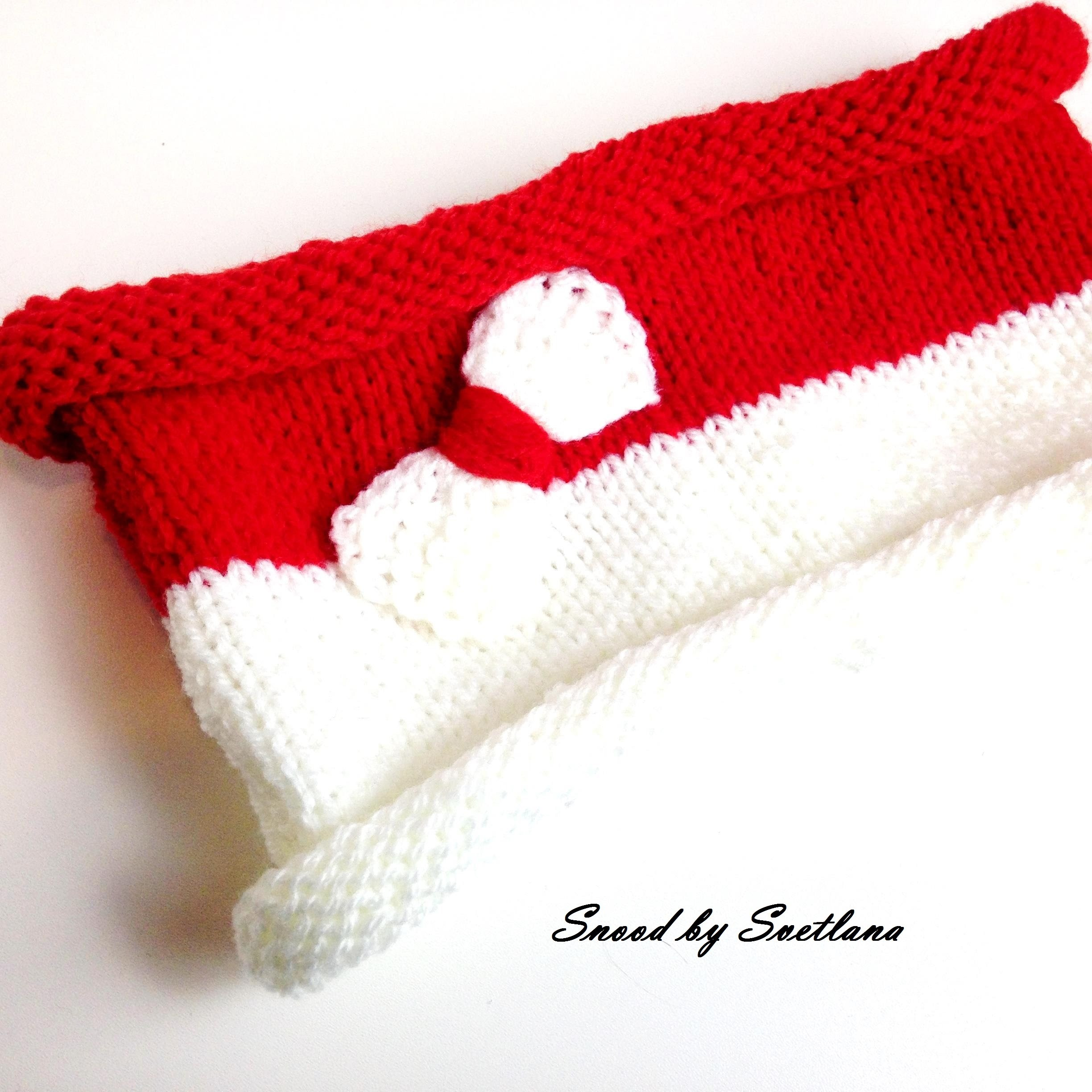 Tutoriel tricot snood simple. Tutorial knitting snood easy