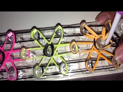 Vidéo n°2 : Comment faire un bracelet elastique rainbow loom ( en français )