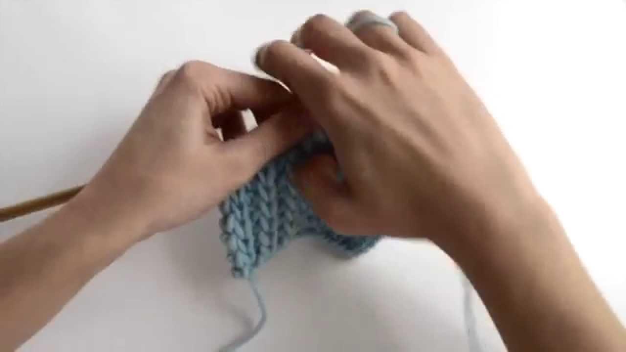 Comment tricoter EN CÔTES PERLÉES   WE ARE KNITTERS