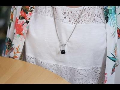 DIY Bijoux : Faire un collier avec de la récup'