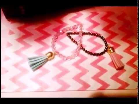DIY Bracelet à pompons -Sweety