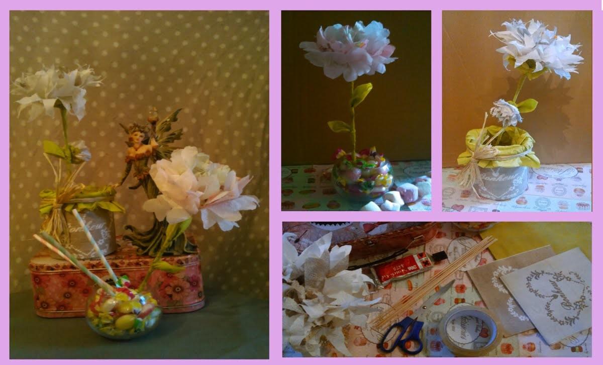 DIY- Création de fleurs en serviettes en papier facile