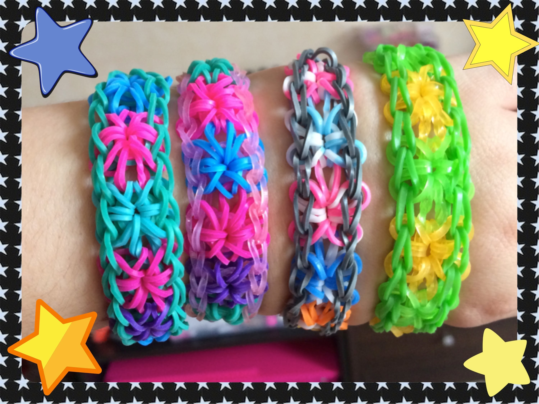 Loom #11 Bracelet Stardust (en français)(Rainbow Cra'Z Loom)