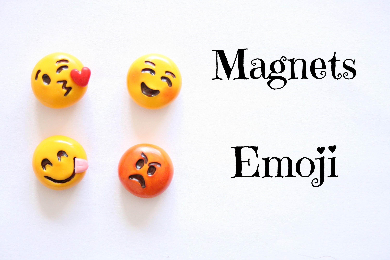 (TUTO) Magnets emoji en fimo