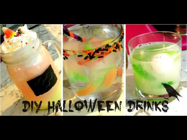 DIY #3 l 4 Drinks pour l'Halloween. #Kalloween