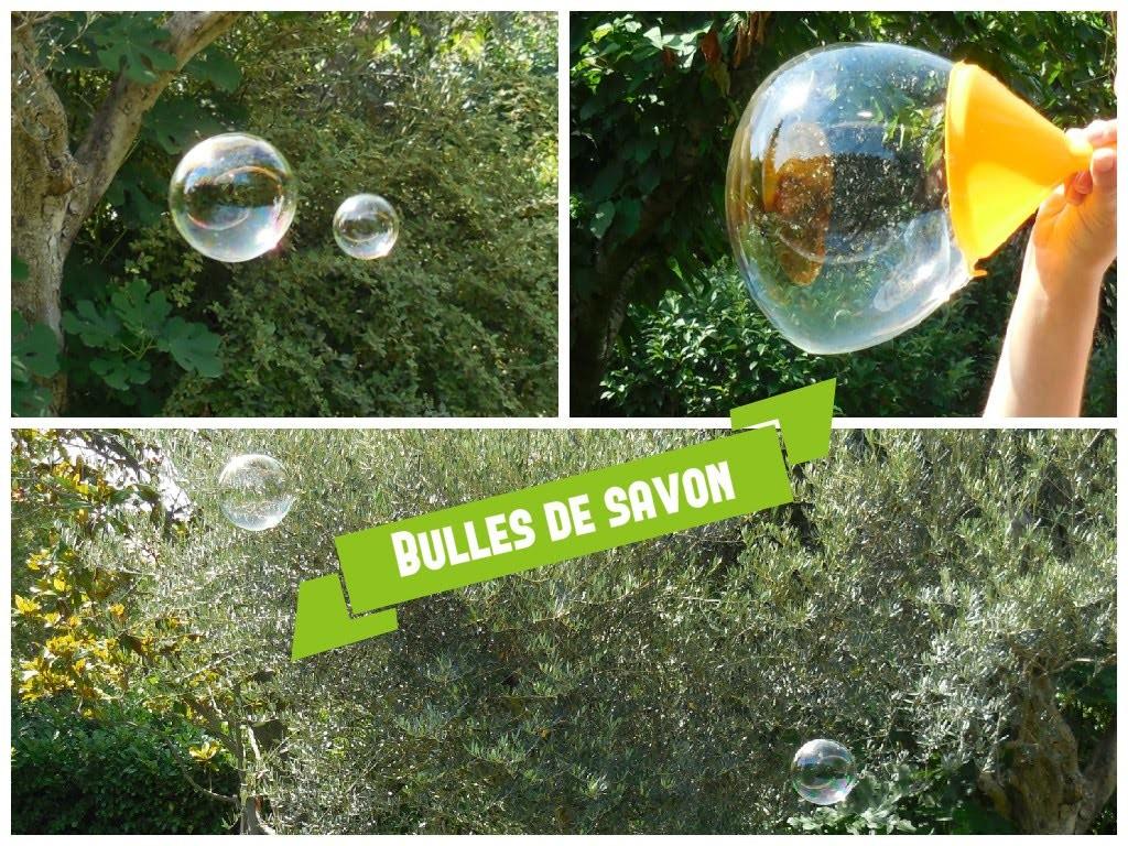 [ DIY ] Bulles de savon faites maison. Homemade bubbles