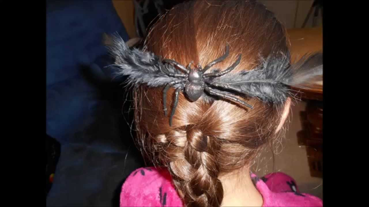 DIY :  Halloween Barrettes Cheveux