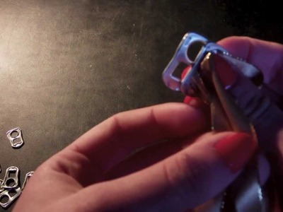 DIY ✿ Un bracelet avec des capsules de canettes ✿