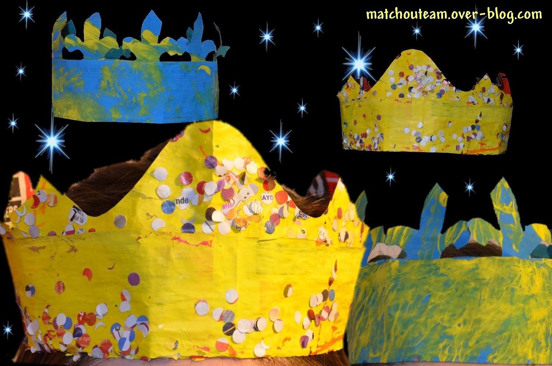 Fabriquer une couronne de roi en papier journal