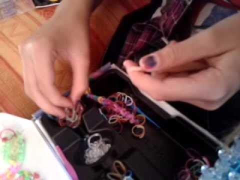 Rainbow loom serpent