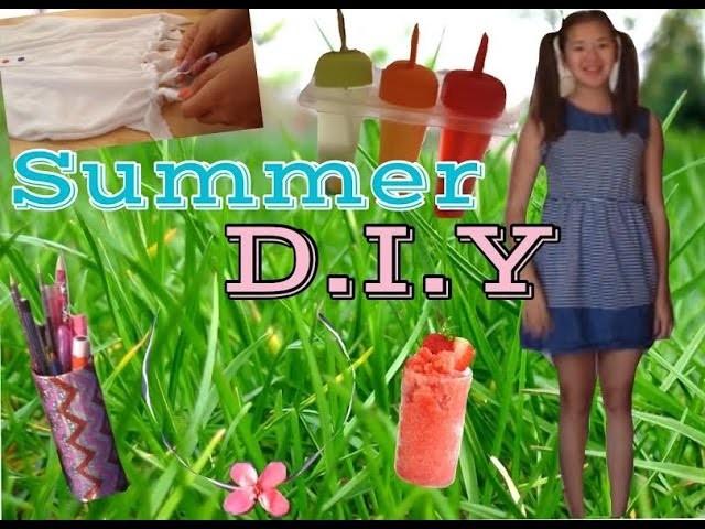 Summer DIY ! Pour ne pas s'ennuyer ❤️