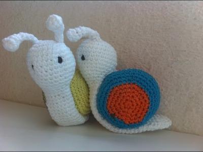 Amigurumi escargot crochet. amigurumi caracoles crochet
