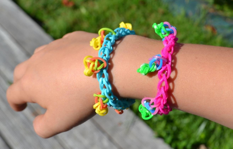 Bracelet rainbow loom en francais - modèle à pétales - tuto DIY