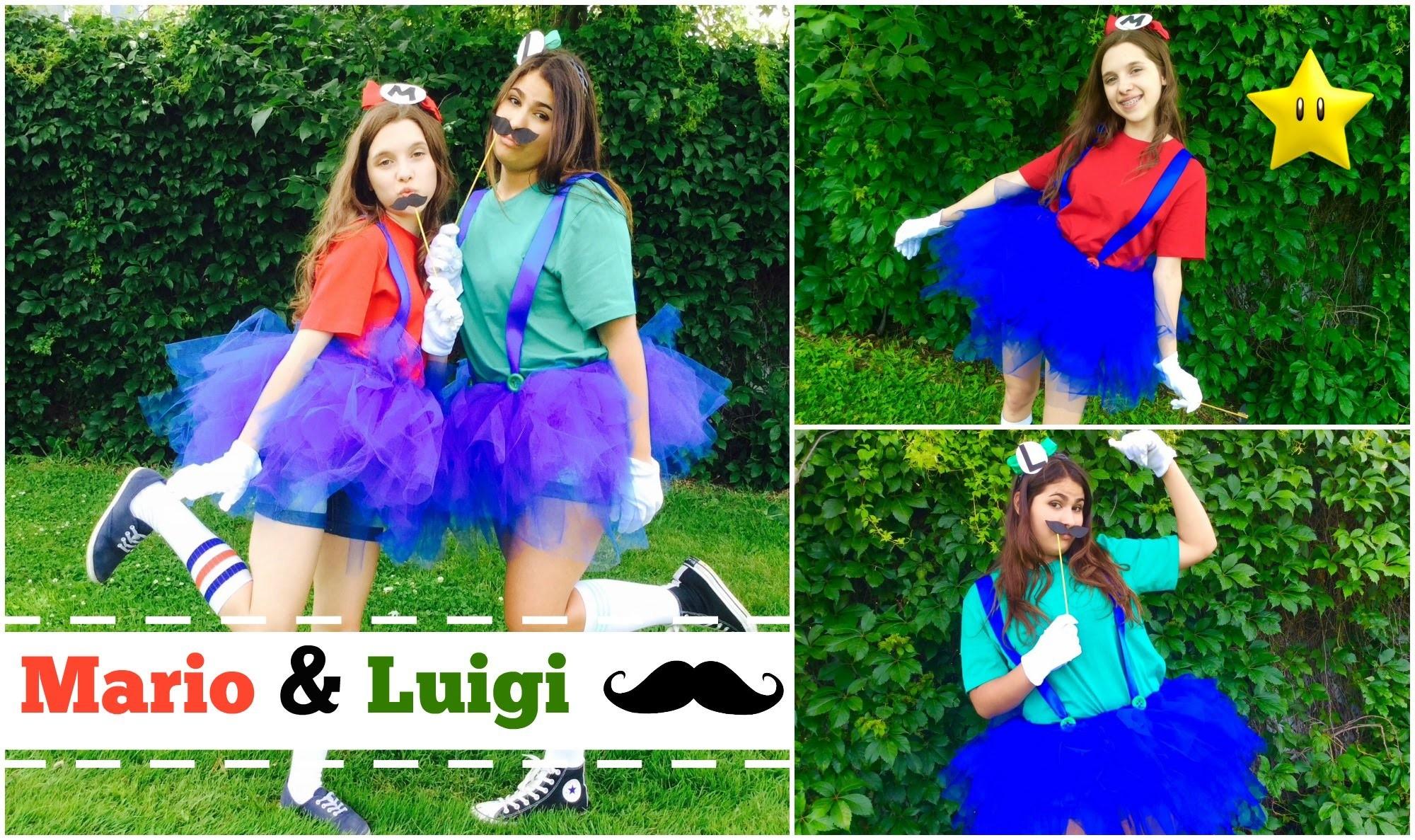 DIY Costume Mario & Luigi ★ Comiccon 2015 - MelinaDitTout (ft. Noé)