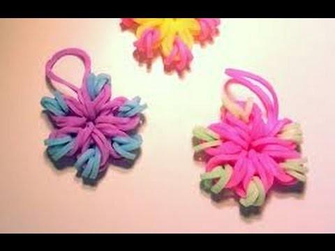 Loom élastique modèle fleur