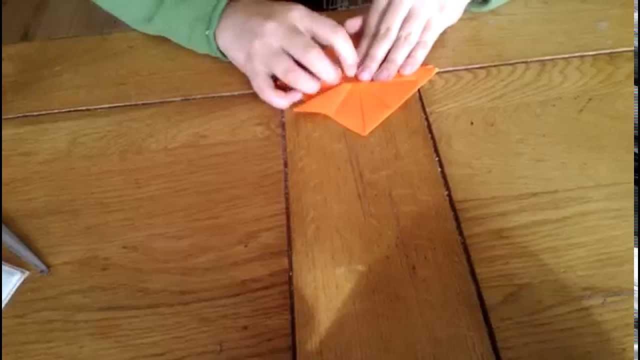 Origami chapeau samouraï