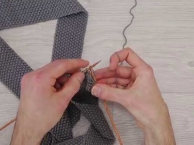 "Phildar ""Au tricot - DIY"" : Tricoter une cravate au point de riz"