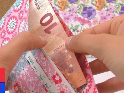 Porte-monnaie en papier. Créer son propre porte-monnaie. DIY