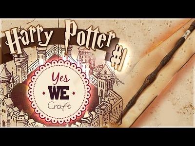 YWC Harry Potter#7-8: La baguette de Sureau de Dumbledore. PÂTE POLYMERE, WEPAM. PtitAtelier