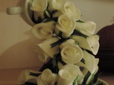 1. Como faço.  Cascata de flores