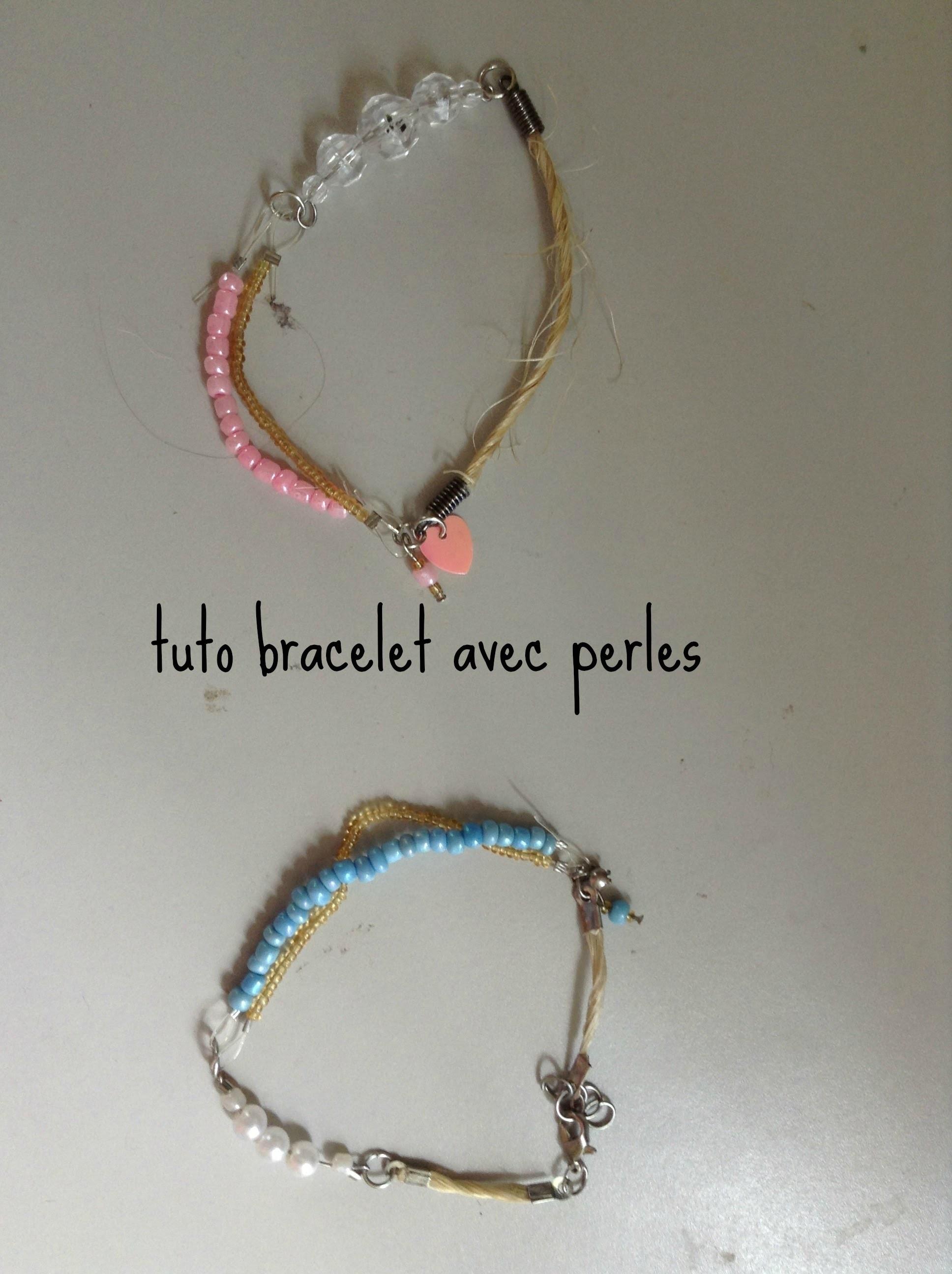D.I.Y bracelet en perles