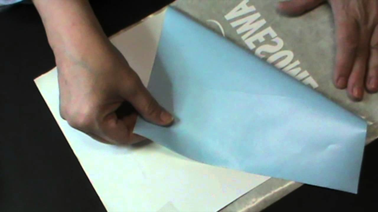 Découper du vinyle avec la Silhouette et faire une carte géante pour un anniversaire
